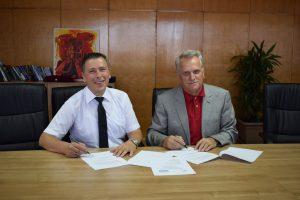 UNT nënshkruajti memorandum bashkëpunimi me