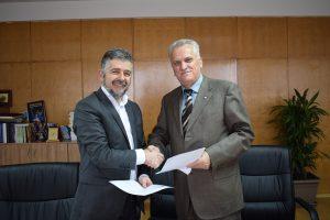Marrëveshje bashkëpunimi në mes UNT-së