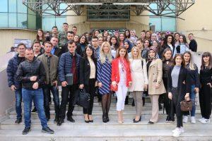 Studentë të UNT-së vizituan Njësinë