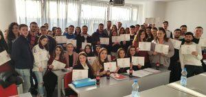 """Në FSHT u zhvillua trajnimi: """"Shkathtësitë për sukses – Youth Empowered"""""""