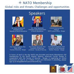 PROREKTORI RIZVAN SULEJMANI PJESË E DISKUTIMIT ONLINE PËR NDER TË DITËS SË NATO-s