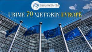 """Universiteti """"Nënë Tereza"""" në Shkup uron 70 – të vjetorin e Ditës së Evropës"""